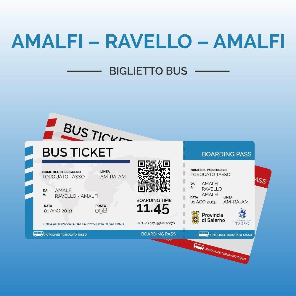 Biglietti Amalfi Ravello Amalfi