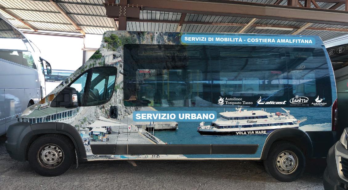 Nuovi Autobus Costiera Amalfitana